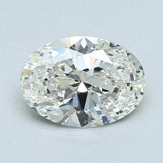 Recommended Stone #2: 1.03-Carat Oval Cut Diamond