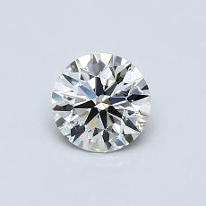 Recommended Stone #1: 0.55-Carat Round Cut Diamond