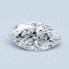 推薦鑽石 #1: 0.64  克拉欖尖形切割鑽石