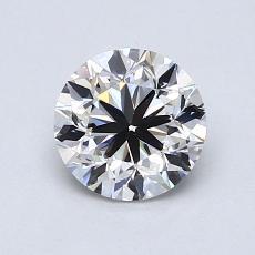 1.00 Carat 圓形 Diamond 良好 H VS1