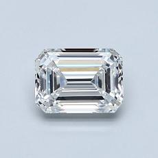 Recommended Stone #3: 0,75-Carat Emerald Cut Diamond
