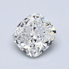 推荐宝石 3:1.11 克拉垫形钻石