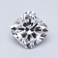 1.01 Carat 墊形 Diamond 非常好 E VS1