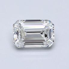 Recommended Stone #4: 0,83-Carat Emerald Cut Diamond