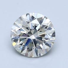 1.51 Carat 圆形 Diamond 非常好 K SI1