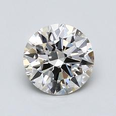 1.01-Carat Round Diamond Ideal K VS1