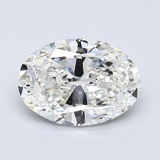 Recommended Stone #2: 1,01-Carat Oval Cut Diamond