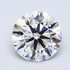 1.40 Carat 圆形 Diamond 理想 G VS2