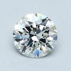 1,00-Carat Round Diamond Ideal E VS2