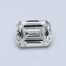 Recommended Stone #1: 0.64-Carat Emerald Cut Diamond