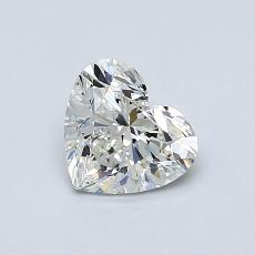 Recommended Stone #4: 0,72-Carat Heart Cut Diamond