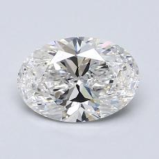 Recommended Stone #3: 1,15-Carat Oval Cut Diamond