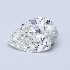 Recommended Stone #1: 0.78-Carat Pear Cut Diamond