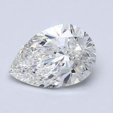 1.20-Carat Pear Diamond Very Good G SI2