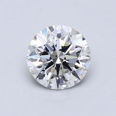 0.83 Carat 圓形 Diamond 理想 H SI1