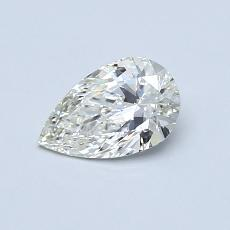 0.52-Carat Pear Diamond Very Good J VS2