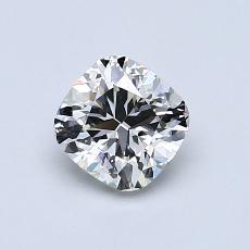 オススメの石No.3:0.87カラットのクッションカットダイヤモンド