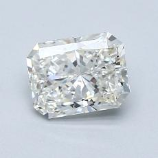 1,01-Carat Radiant Diamond Very Good G SI1