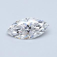推薦鑽石 #1: 0.50  克拉欖尖形切割鑽石