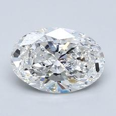 Recommended Stone #4: 1.50-Carat Oval Cut Diamond