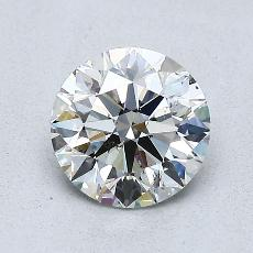 1.00-Carat Round Diamond Ideal G SI2