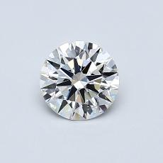 Recommended Stone #1: 0.53-Carat Round Cut Diamond