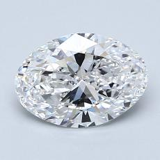 Recommended Stone #1: 1,40-Carat Oval Cut Diamond