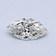 推薦鑽石 #3: 0.55  克拉欖尖形切割鑽石