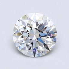 1.20-Carat Round Diamond Ideal D VS1
