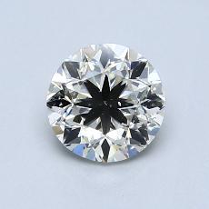 1.01 Carat 圓形 Diamond 良好 I SI2