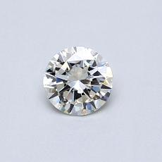Recommended Stone #4: 0,30-Carat Round Cut Diamond