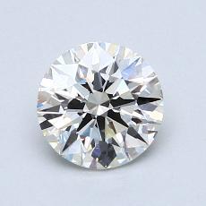 1.03 Carat 圆形 Diamond 理想 I VVS2