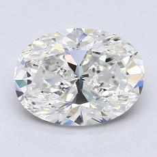 推薦鑽石 #4: 1.74  克拉橢圓形切割