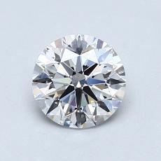 1,01-Carat Round Diamond Ideal E VS1