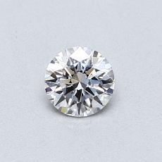 0.34-Carat Round Diamond Ideal E VS1