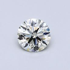 Recommended Stone #2: 0.59-Carat Round Cut