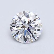 1.01 Carat 圆形 Diamond 理想 D VVS2