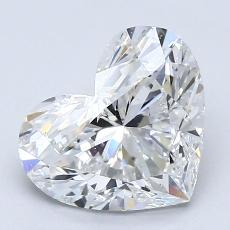 Recommended Stone #1: 2.00-Carat Heart Cut Diamond