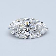 0.50-Carat Marquise Diamond Very Good F SI2