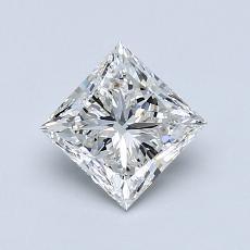 Recommended Stone #3: 0.96-Carat Princess Cut Diamond