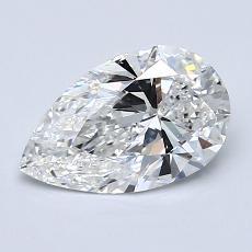 1.20 Carat 梨形 Diamond 非常好 F VS1