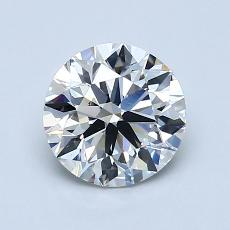 1.20-Carat Round Diamond Ideal E VS1