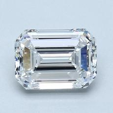 Recommended Stone #3: 1.34-Carat Emerald Cut Diamond