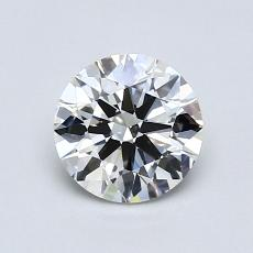 0,75 Carat Rond Diamond Idéale F VS1