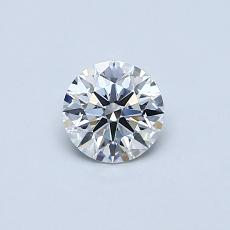 Recommended Stone #4: 0.42-Carat Round Cut