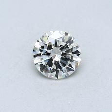 Recommended Stone #1: 0.30-Carat Round Cut Diamond
