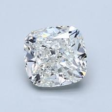 1,23-Carat Cushion Diamond Very Good I SI2