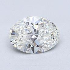 1,01-Carat Oval Diamond Very Good G VVS2