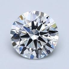 1.58 Carat 圓形 Diamond 理想 E VS1