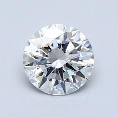 推薦鑽石 #4: 1.01 克拉圓形切割鑽石